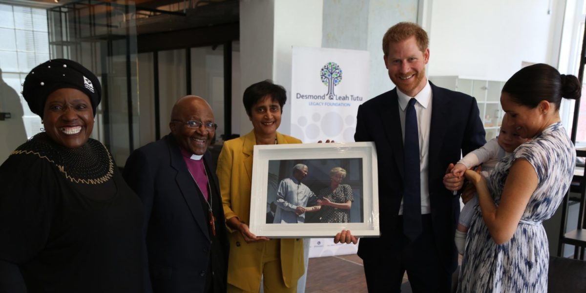 The Duke And Duchess Of Sussex Visit The Desmond & Leah Tutu Legacy Foundation