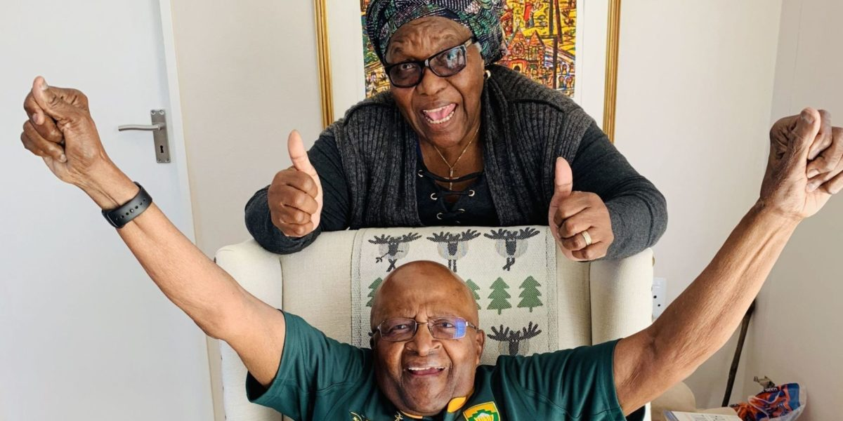 ARCHBISHOP TUTU'S MESSAGE TO THE SPRINGBOKS